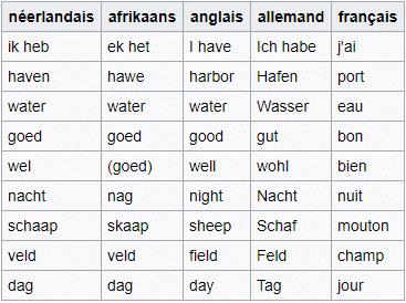 tableau sous-titrage néerlandais