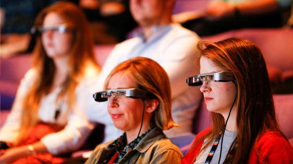 lunettes sous-titres accessibles