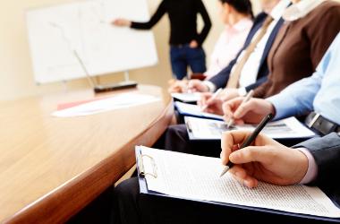 Prise de note lors de réunions