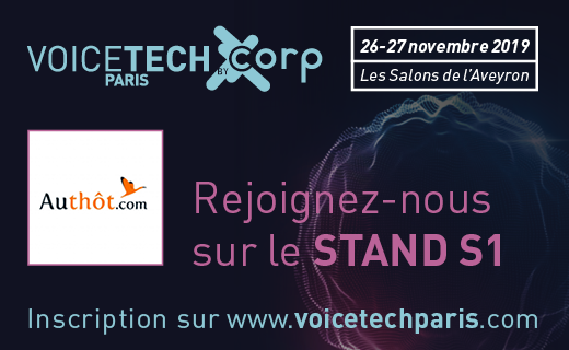 Voice Tech Paris - Authôt