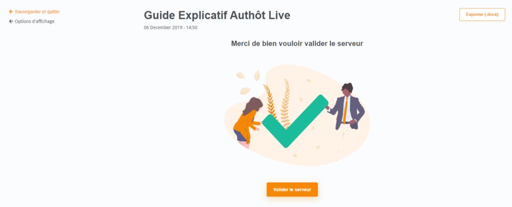 Authôt Live : solution de transcription et traduction en direct