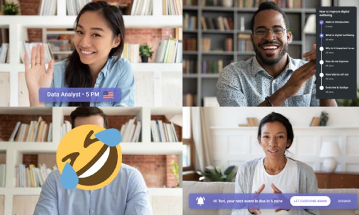 Mindfulmeets : une extension qui améliore le bien-être numérique durant les visioconférences