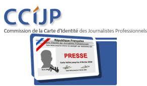 demande carte de presse Reportage vidéo La carte de presse | Retranscription automatique