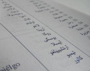 sous titrage arabe